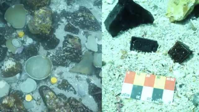 济州岛海底发现大量南宋文物