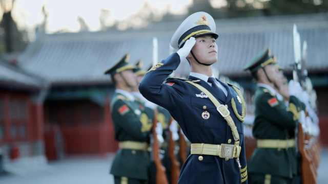 国庆阅兵护旗手:身高腿长都有要求