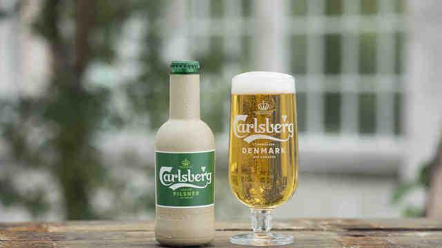 嘉士伯推出纸质啤酒瓶:100%可回收