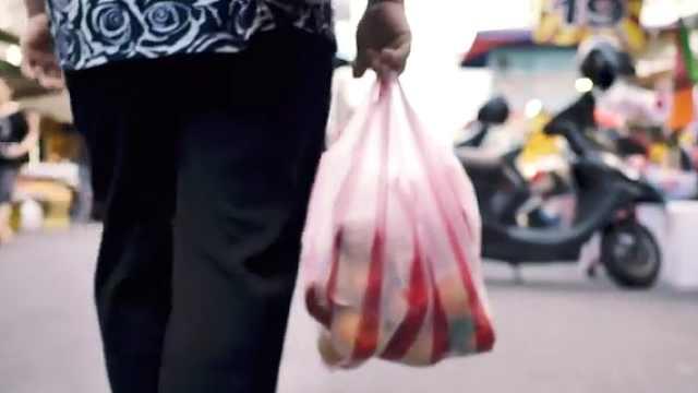 塑料购物袋设计者初衷:挽救地球
