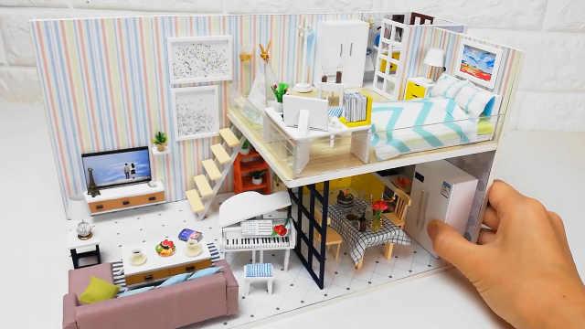 DIY甜美安静的温馨公寓