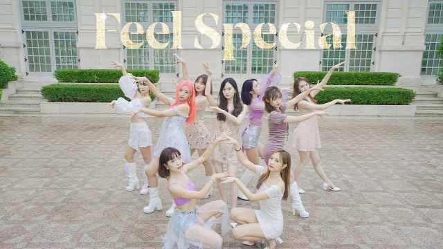 九仙女下凡跳舞,太美了!