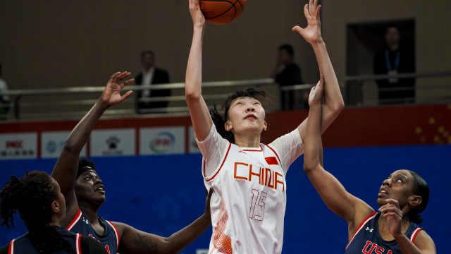 三大球皆胜!中国女篮48分完爆美国