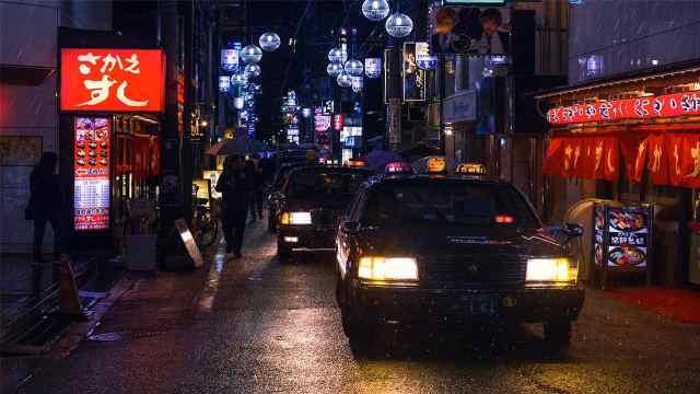 """做过""""最富豪""""的事:在日本打车"""