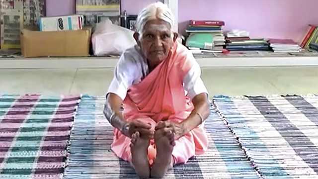 印度99岁瑜伽奶奶去世,从不去医院