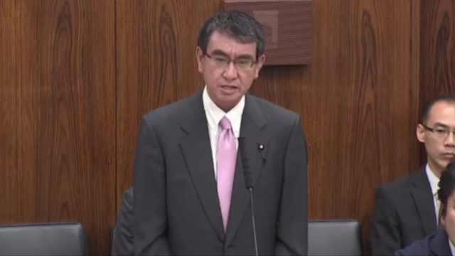 拿台风开玩笑,日本防卫大臣道歉