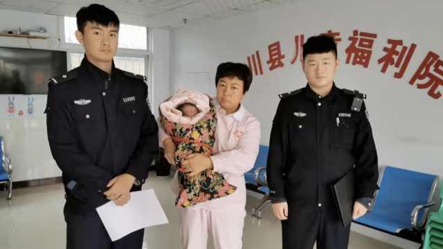 20天健康女婴遭单亲妈遗弃:无力养