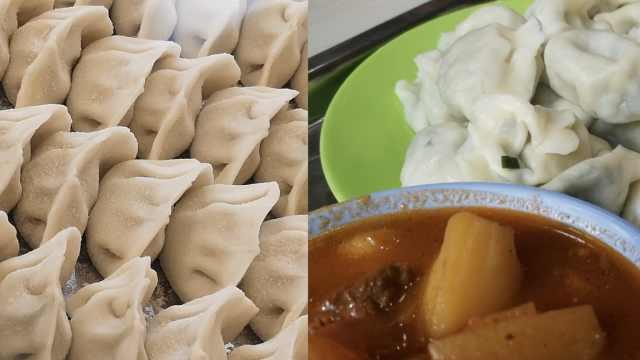 南方学生首吃饺子:立冬不吃掉耳朵
