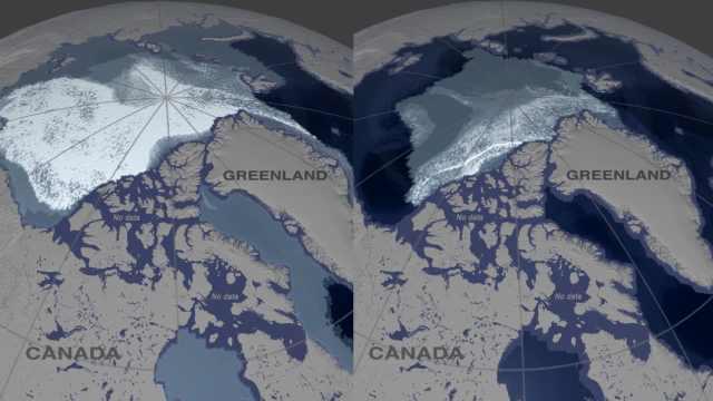 巨变!北极最古老冰川35年减少95%