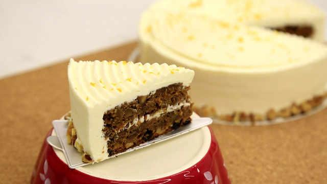 简版胡萝卜蛋糕:把最好的揉在一起