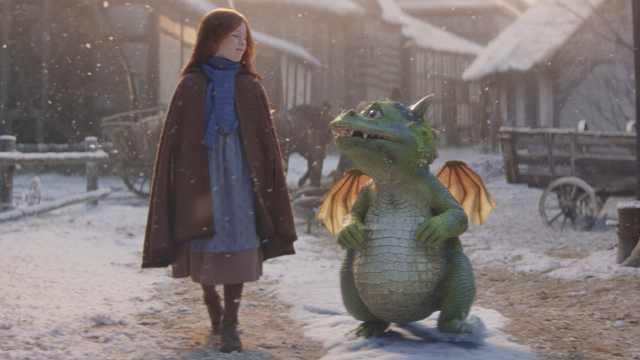 John Lewis圣诞广告:萌化的喷火龙