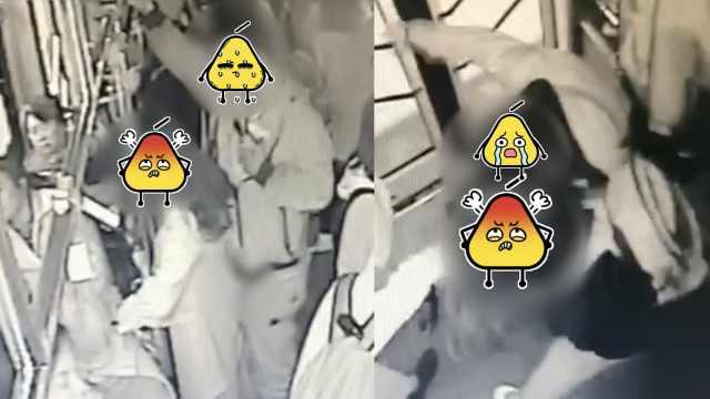 男子公交车猥亵2人,被14岁女孩锁喉