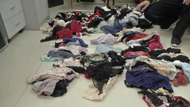 为寻刺激,23岁奶爸盗200件女性内衣