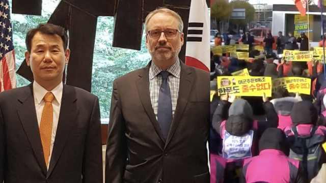 韩美第11次军费协商破裂:美方离席