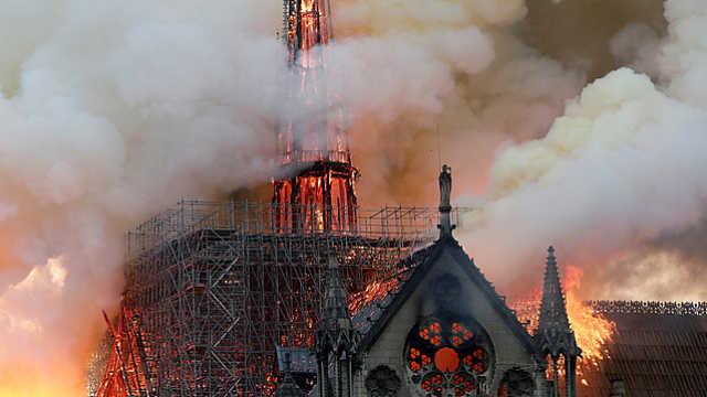 中法为巴黎圣母院带来新生