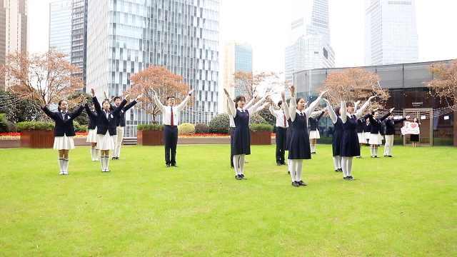 滬澳學生合唱,共慶澳門回歸20周年
