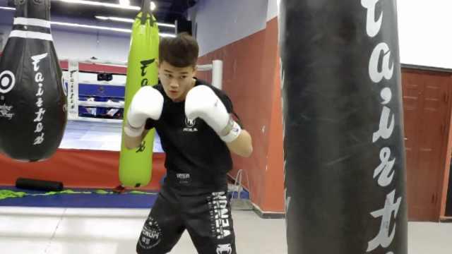 20岁武校小伙改打MMA,30秒KO对手