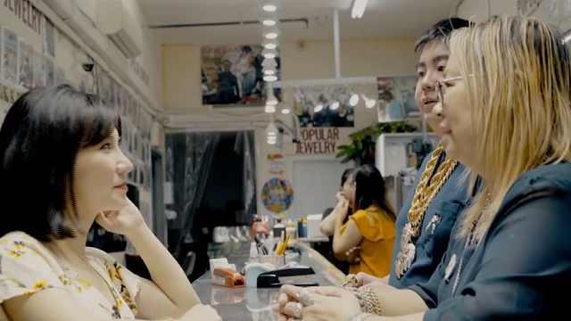 吴亦凡也在她的金店买过首饰!