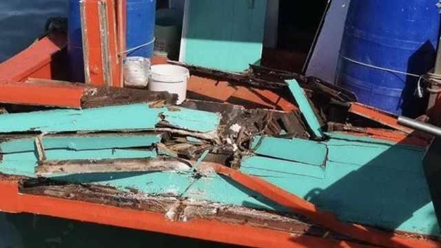 中国游客快艇在泰国被撞,6人受伤