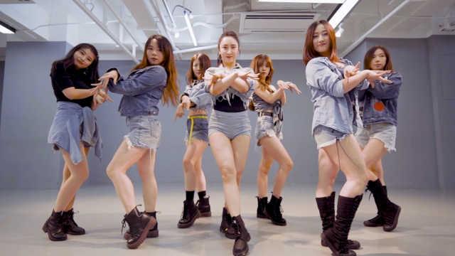 长腿小姐姐们清爽开跳CLC《Devil》