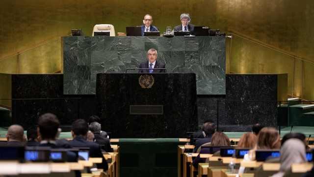 联合国决议:呼吁东京奥运期间休战