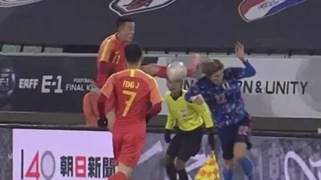 日韩媒怒批姜至鹏:中国球员在杀人