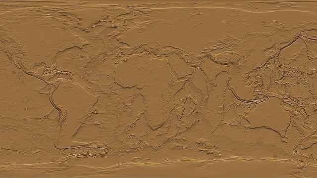 NASA揭秘把海水抽干后地球长啥…