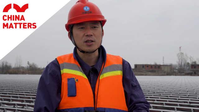 中国这座发电站建在了湖水上