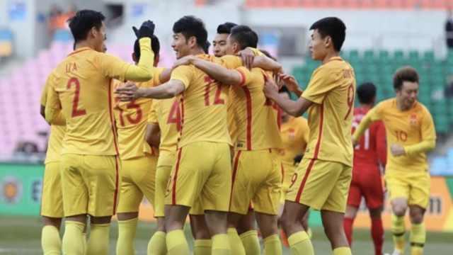 2-0!国足胜中国香港获东亚杯季军