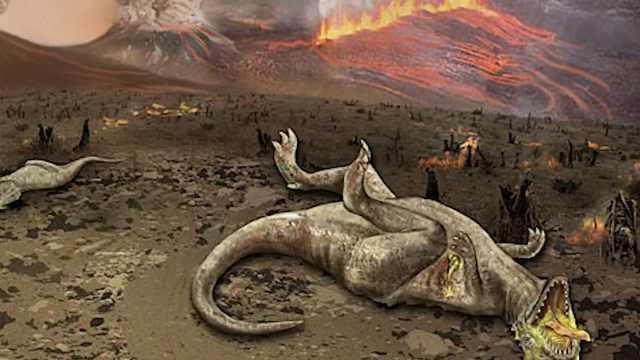 恐龙是被毒死的?火山爆发产生汞