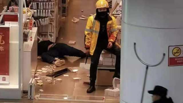 外卖员商场行凶,美团否认差评引起