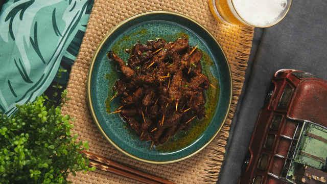 鲜香麻辣的川香牙签牛肉,抢着吃!