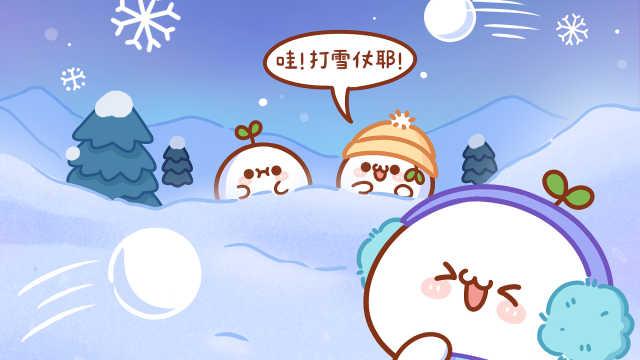 小团子不喜欢打雪仗的原因是?
