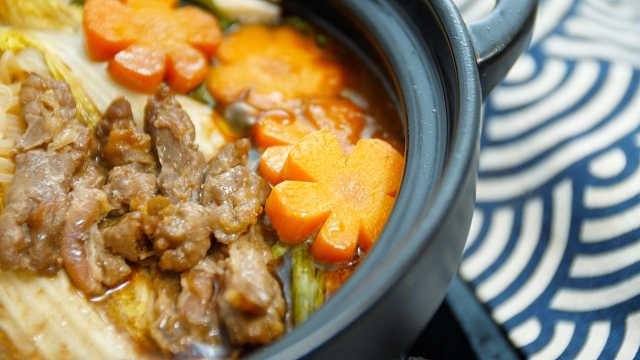 自制寿喜锅,鲜甜美味,一锅入魂