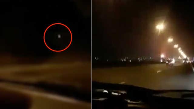 乌航坠机画面:在空中燃烧近一分钟
