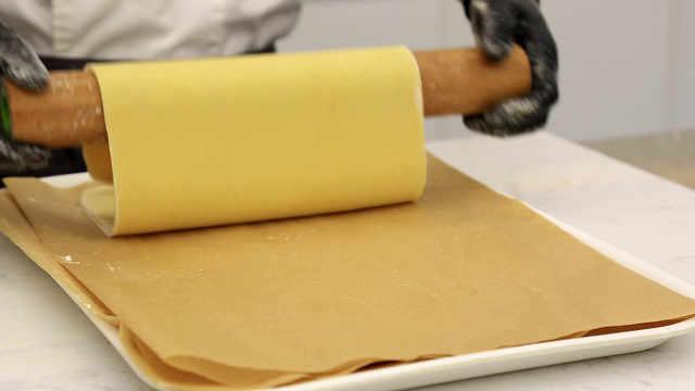 反折叠派皮:油和面的相逢