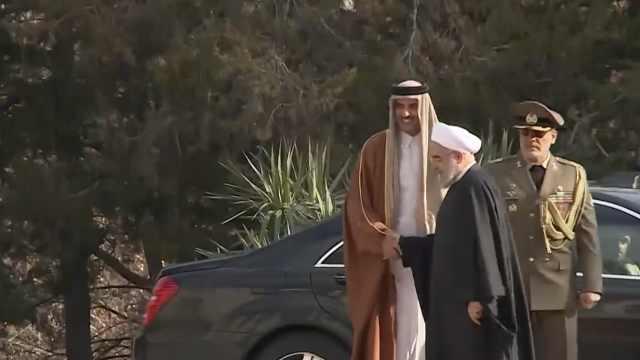 卡塔尔援助伊朗30亿,赔坠机遇难者