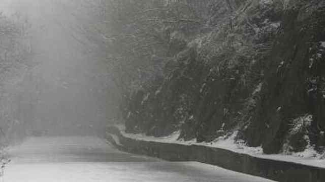 紫金山飘雪!2020南京第二场雪来了