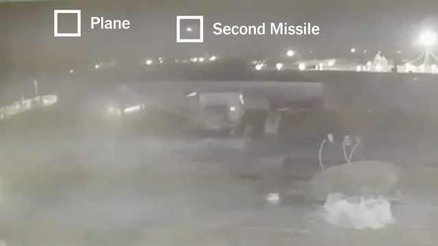伊朗导弹击中客机全过程视频曝光