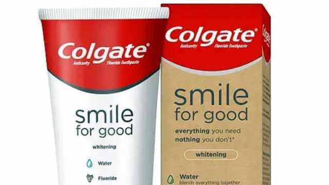 高露洁推出首个外壳可回收牙膏