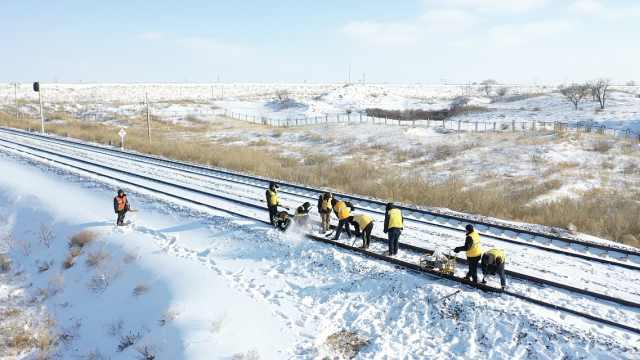 铁路工极寒中诊治线路,靠唱歌取暖