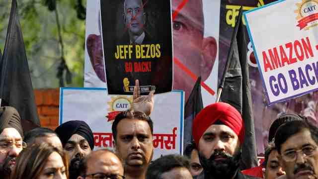世界首富贝索斯访问印度投10亿美元