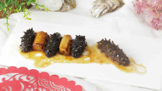 经典鲁菜葱烧海参,让人食之不忘