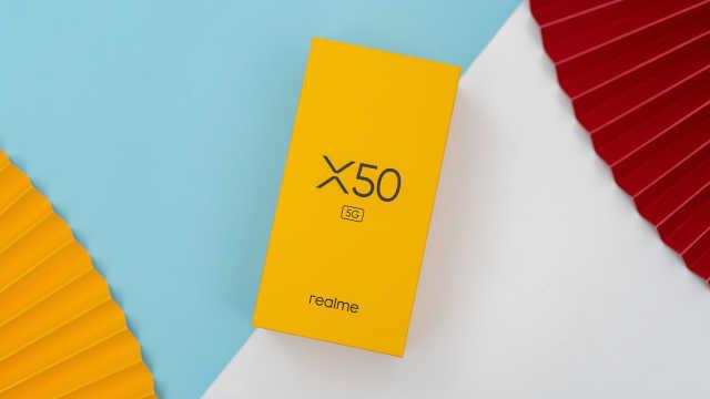 realme真我X50 5G体验