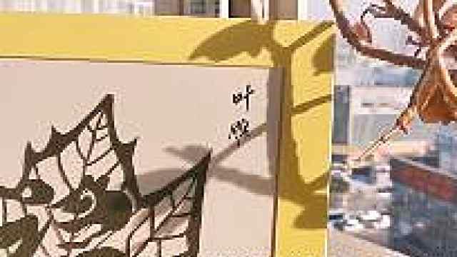 淮安67岁老人作品被外国艺术家珍藏