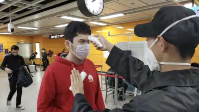 广州地铁测体温仅一两秒,乘客:方便