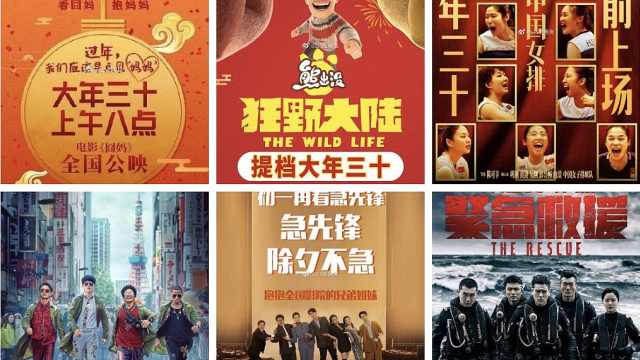 春节档电影预售大幅下降