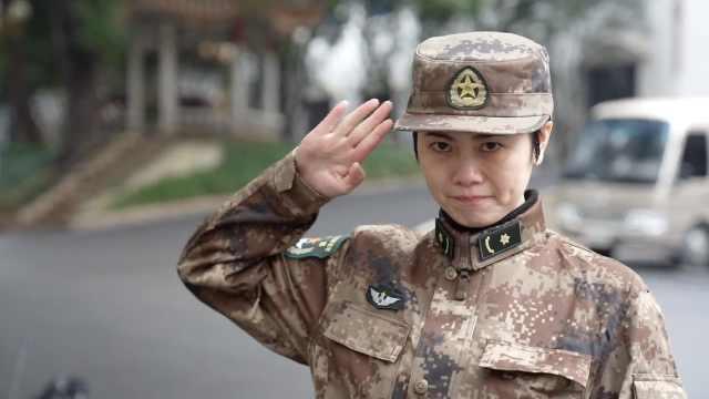 陆军女军医赴武汉一线:曾抗击非典