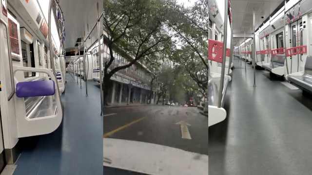 重庆确诊75病例!公交地铁基本无人