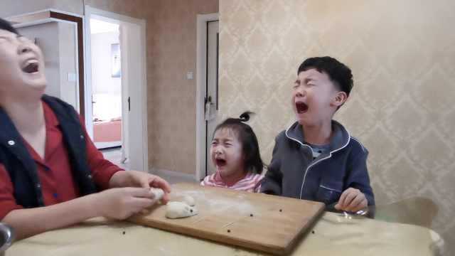 宝妈带娃宅家里抗疫,2娃随时都能哭